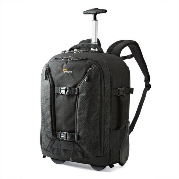 LOWEPRO ROLLING BAG PRO ROLLER X450 BLACK (SIDE)